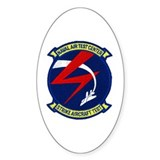 Strike Aircraft Test Center Oval Decal