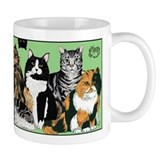 Cat party Small Mug - 11oz