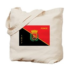 Ponce Flag Tote Bag