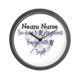 Cute Neuro nurse Wall Clock