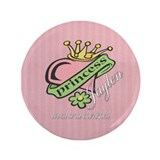 "Cherished Daughter 3.5"" Button"