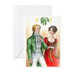 Regency Christmas card (Pack of 10)