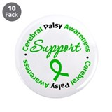 "CerebralPalsySupport 3.5"" Button (10 pack)"
