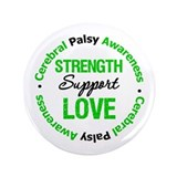 "CerebralPalsySupportLove 3.5"" Button"
