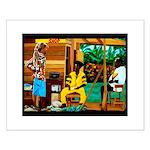 Conscious Rastafarian Culture Art Small Poster