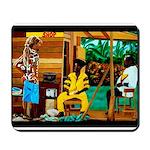 Conscious Rastafarian Culture Art Mousepad