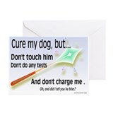 Cure My Dog Greeting Cards (Pk of 20)