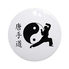 Tang Soo Do Ornament (Round)