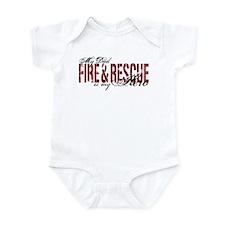 Dad My Hero - Fire & Rescue Onesie