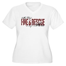 Dad My Hero - Fire & Rescue T-Shirt