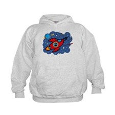 Rocket Ship 2nd Birthday Hoodie