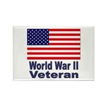 World War II Veteran Rectangle Magnet (10 pack)