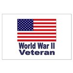 World War II Veteran Large Poster