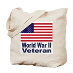 World War II Veteran Tote Bag