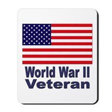 World War II Veteran Mousepad