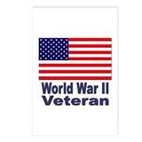 World War II Veteran Postcards (Package of 8)