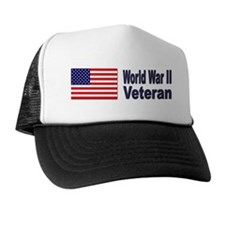 World War II Veteran Trucker Hat