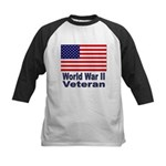 World War II Veteran Kids Baseball Jersey