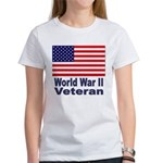 World War II Veteran (Front) Women's T-Shirt
