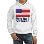 World War II Veteran (Front) Hooded Sweatshirt