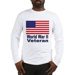 World War II Veteran (Front) Long Sleeve T-Shirt