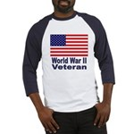 World War II Veteran (Front) Baseball Jersey