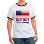 World War II Veteran (Front) Ringer T