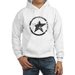 Military Star Hooded Sweatshirt