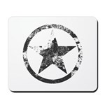 Military Star Mousepad