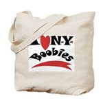 New York Boobies Tote Bag