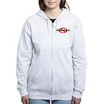 No Kineahoras Women's Zip Hoodie