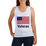 American Flag Veteran Women's Tank Top