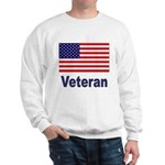 American Flag Veteran (Front) Sweatshirt