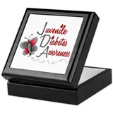 Juvenile Diabetes Awareness 1 Butterfly 2 Keepsake