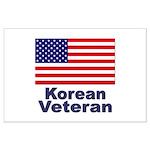 Korean Veteran Large Poster