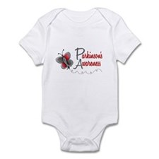Parkinson's Awareness 1 Butterfly 2 Infant Bodysui