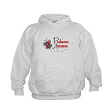Parkinson's Awareness 1 Butterfly 2 Hoodie