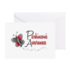 Parkinson's Awareness 1 Butterfly 2 Greeting Card