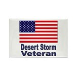 Desert Storm Veteran Rectangle Magnet (10 pack)