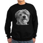 Biscuit, Shih Tzu-Terrier Sweatshirt (dark)
