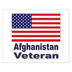 Afghanistan Veteran Small Poster