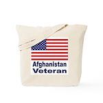 Afghanistan Veteran Tote Bag