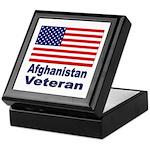 Afghanistan Veteran Keepsake Box