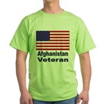 Afghanistan Veteran Green T-Shirt
