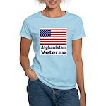 Afghanistan Veteran (Front) Women's Pink T-Shirt