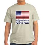 Afghanistan Veteran (Front) Ash Grey T-Shirt