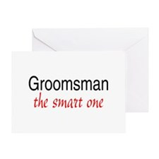 Groomsman (The Smart One) Greeting Card