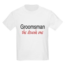 Groomsman (The Drunk One) T-Shirt