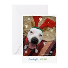Got Sleigh? Will PULL! (Pk of 10 Cards)