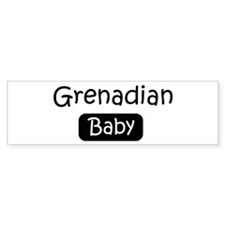 Grenadian baby Bumper Sticker (10 pk)